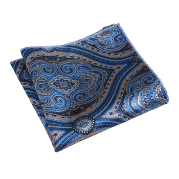 Pocket Size Embroidery Exquisite Gift Business Suit Classic Vintage Party Men Handkerchief Lightweight Washable Portable