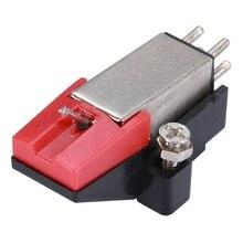 Проигрыватель пластинок двойной движущийся магнит стерео Виниловый проигрыватель стилус игла проигрыватель для виниловых пластинок