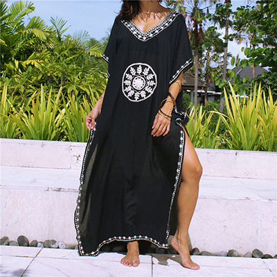 Beach dress Sarongs  Cover-up Swimwear Bobe de Plage Pareo Beach Tunics Bathing suit cover ups Saida de Praia Bikini cover up