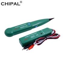 CHIPAL AIMO MS6812 LAN тестер телефонный провод Tracer сетевой кабель трекер для UTP STP Cat5 Cat6 RJ45 RJ11 инструмент для поиска линии