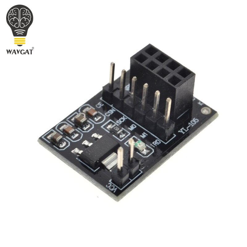NRF24L01 Wireless Adapter Module New Socket Adapter Plate Board For 8Pin