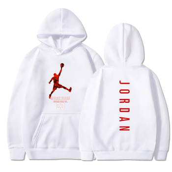 2020 Winter Men Cashmere Casual Hoodie Men Hoodie / Street Sweatshirt JORDAN23 Sports Sweatshirt Women Hoodie image