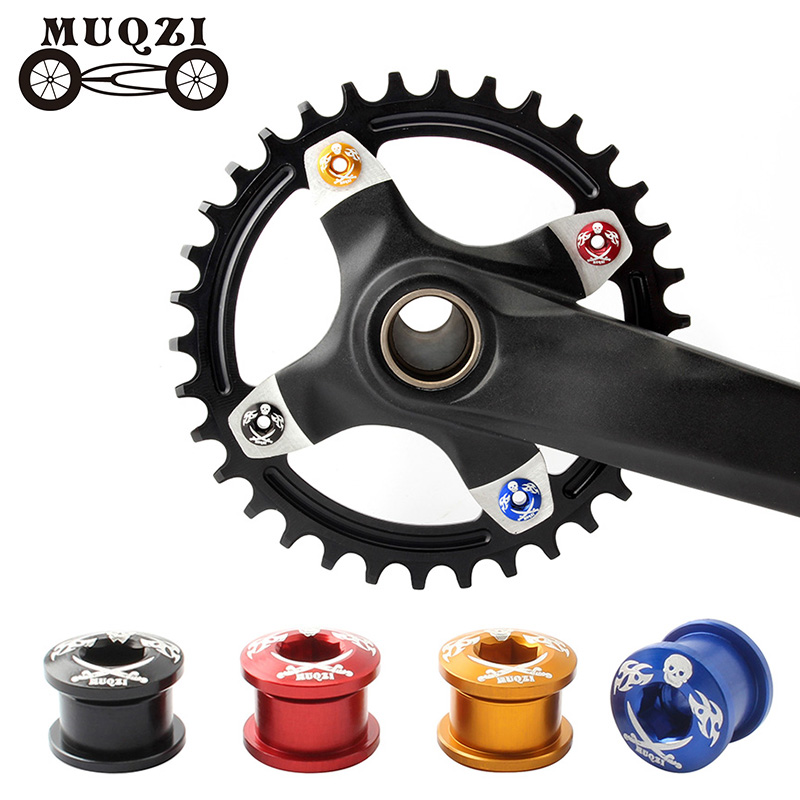 MTB Road Bike Single Disc Crank Chainring Bolt Screw Bicycle Replacement Parts