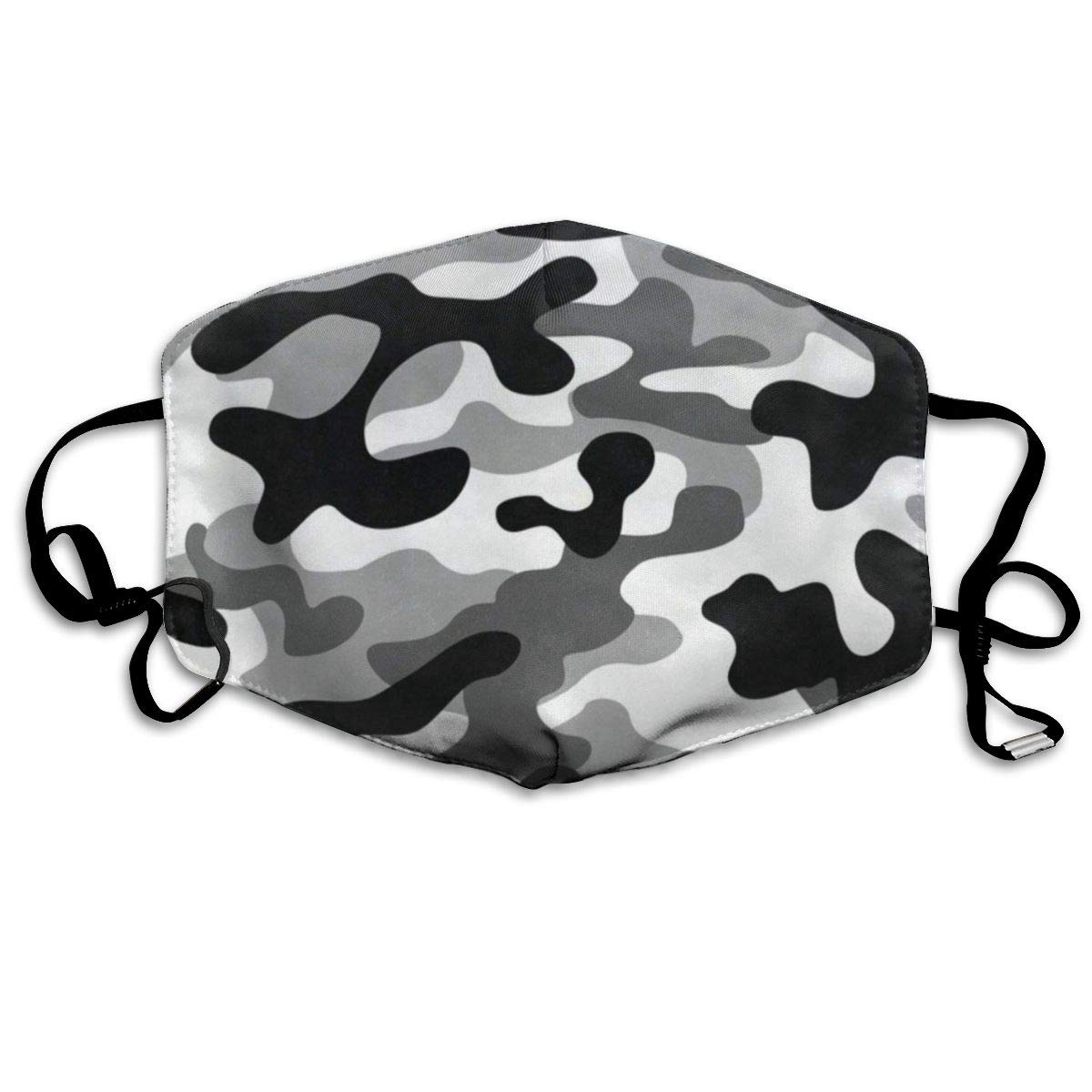 Face Mask Military Camouflage Amazing Cycling Half Face Earloop Mouth Mask For Men