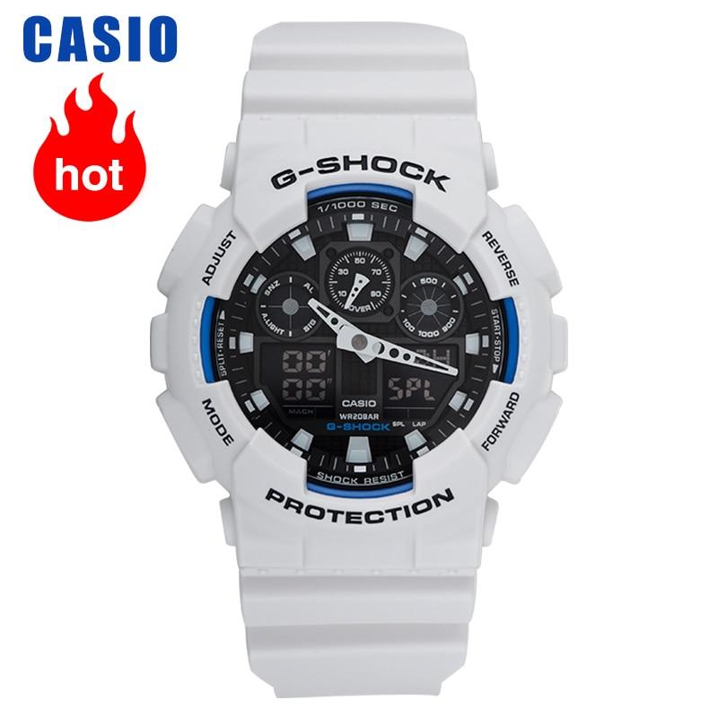Casio watch G-SHOCK sports waterproof large dial men's watch GA-100B-7A