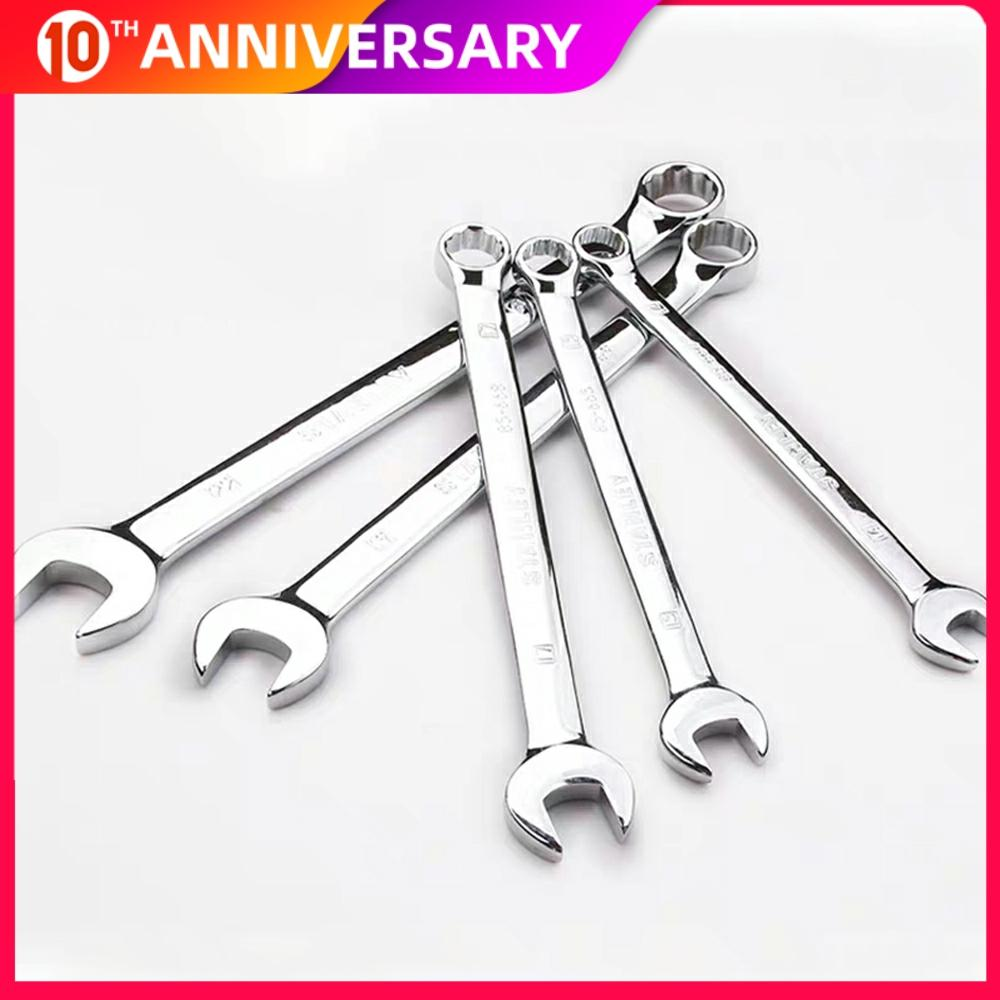 1Pcs 6MM-32MM Ratchet Wrench Combination Wrench Spanner Set Key Repair Tool New