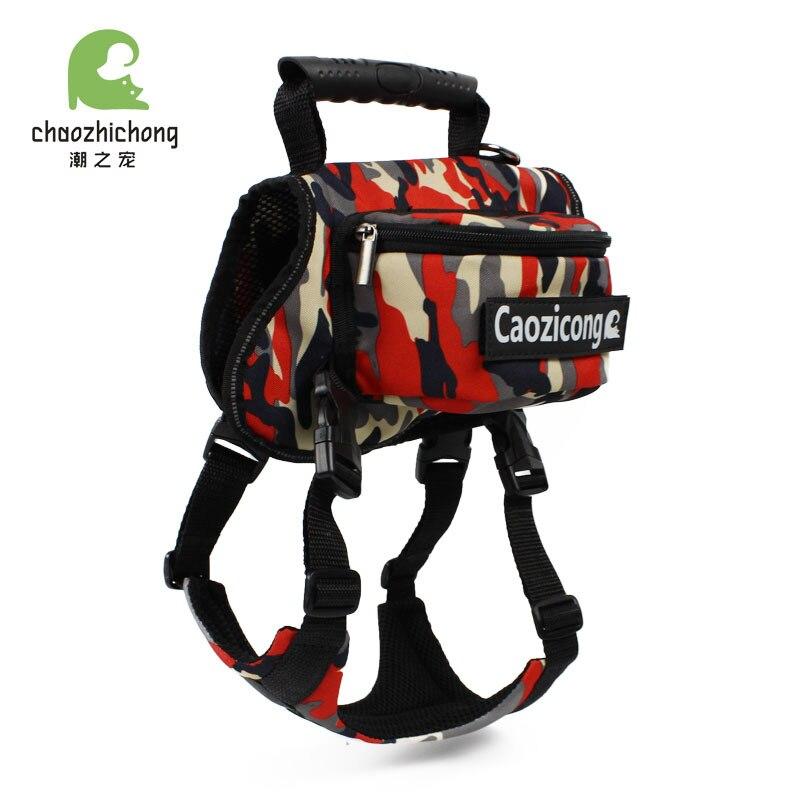 Dog Dog Backpack Hot Selling Large Dog Pet Backpack Top Grade Breathable Cotton Cloth Ultra-Light Dog Pack