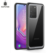 SUPCASE For Samsung Galaxy S20 Ultra Case/ S20 Ultra 5G Case (2020) UB Style Premium Hybrid TPU Bumper Protective Clear PC Cover