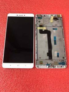 """Image 5 - Pantalla LCD Original de mejor calidad probada para Xiaomi Mi Max mimax de 6,44 """", pantalla LCD + Digitalizador de panel táctil con Marco, color blanco"""