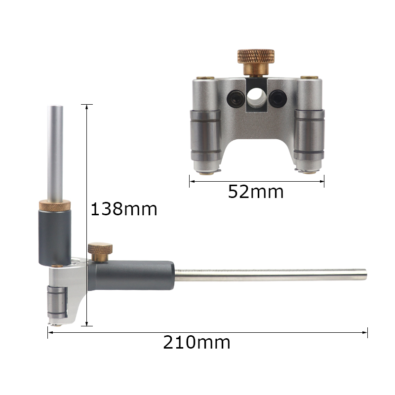 Carpentry Line Marking Gauge Dual Straight Line Parallel And Drawing Arc Purpose Scribing Scribe Scribe Tool Automatic