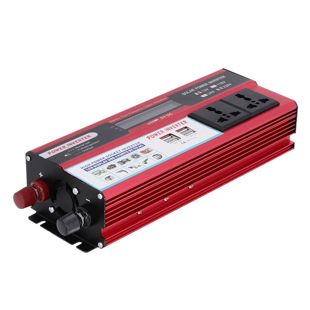 6000W 4 USB Ladegerät Solar Power Inverter Welle Digital Display Phonefor auto marine solar elektrische power wind elektrische power