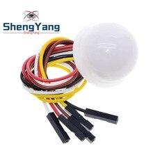 Shengyang eletrônico inteligente bh1750 bh1750fvi chip luz intensidade módulo luz bola para arduino