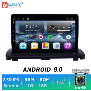 EKIY 9'' IPS Android 9.0 1+16G Car Radio BT Auto Video For Volvo XC90 2004-2014 Stereo Multimedia Video Player GPS Navigation BT image