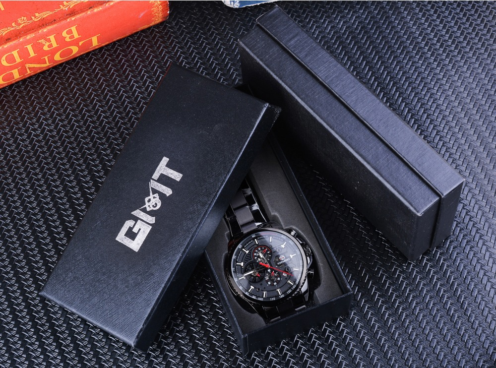 H00b000c559dd4d81b91f1b097a6cd866H Forsining Three Dial Calendar Stainless Steel Men Mechanical Automatic Wrist Watches Top Brand Luxury Military Sport Male Clock