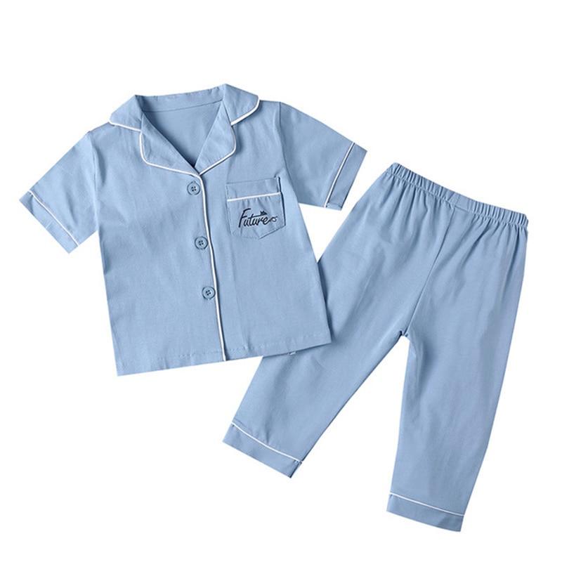 SAILEROAD Children's Pajamas For Girls Pyjamas Short Top+Long Pants Kids Pijama Infantil Boys Sleepwear Child Home Wear Clothes 4
