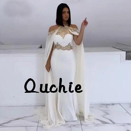 Платье белого цвета и цвета слоновой кости марокканский кафтан вечернее платье куртка особых поводов вечернее платье Исламская Дубай Кафтан Саудовской Арабский Платье на выпускной