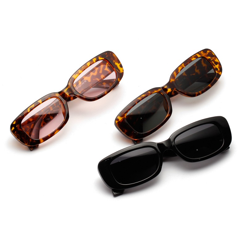 Fashion Punk Sun Glasses Frame PC Lens AC Travel Sunglasses Retro Small Oval Sunglasses Women