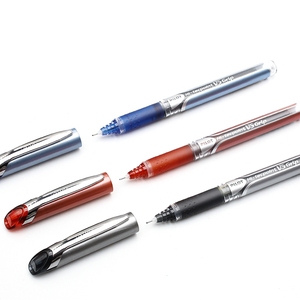 Image 3 - 9 חתיכות טייס היי Bxgpn גריפ BXGPN V5 0.5mm נוסף בסדר Rollerball עט ג ל עט מבחן עט מיוחד יפן שחור/כחול/אדום צבע