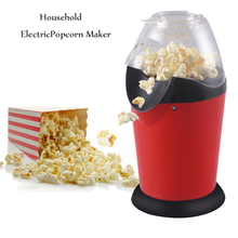 110v / 220v Household Popcorn Makers Hot Air Corn Popper Suitable For Diy Electric Popcorn Popper Mini Popcorn Machine