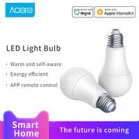 Aqara 스마트 전구 조정 가능한 색 온도 LED 밤 빛 9W 806lum 램프 Xiaomi MIjia 스마트 홈 작업 Mi 홈 애플 리케이션