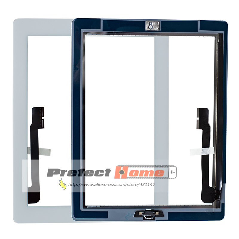 20Pcs lot For iPad 3 Touch Screen Glass Digitizer assembly A1416 A1403 A1430 free by dhl