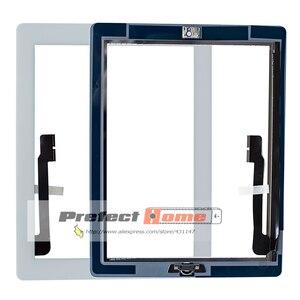 Image 2 - 10 шт. Новый сенсорный экран стекло дигитайзер в сборе для iPad 3 в сборе A1416 A1403 A1430