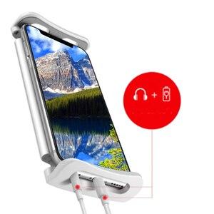 Image 4 - Попсокт uniwersalny telefon komórkowy HD projekcja podstawka pod telefon lupa do ekranu 360 stopni regulowany 8/12 Cal stojak na telefon