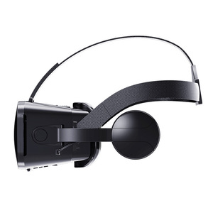 Image 2 - Rovtop VR מציאות מדומה 3D משקפיים 3D קרטון אוזניות קסדת עבור iPhone אנדרואיד Smartphone סטריאו אוזניות VR תיבת VR משחקים