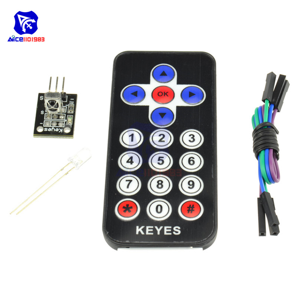 diymore <font><b>HX1838</b></font> Infrared Remote Control Module Wireless IR Receiver Module for Arduino image