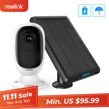 Reolink Wifi Camera Solar-Panel Rechargeable-Battery Wide-View Security Outdoor Argus-2