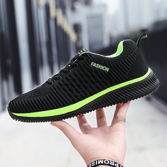 Summer Breathable Men's Casual Shoes Mesh Breathable Man Casual Shoes Fashion Moccasins Lightweight Men Sneakers Hot Sale 35-48 2