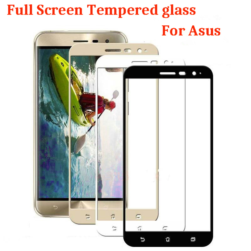 Full Tempered <font><b>Glass</b></font> For Zenfone 3 Max <font><b>ZC553KL</b></font> 4 Max ZC520KL ZC554KL 5.5 Screen Protector 4Selfie ZD553KL ZS630KL ZB501KL ZB634KL image