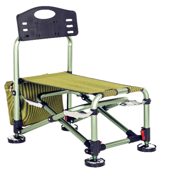 Folding Fishing Chair, Chair, Portable Seat, Aluminum Alloy Fishing Chair Folding