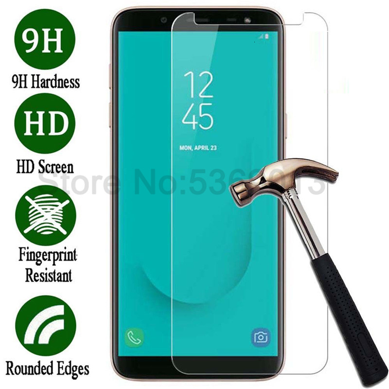 9H Tempered Glass on the For Samsung Galaxy J7 J5 J3 2015 2016 2017 J2 J8 J4 J6 Plus 2018 Screen Protector Protective Glass Film image