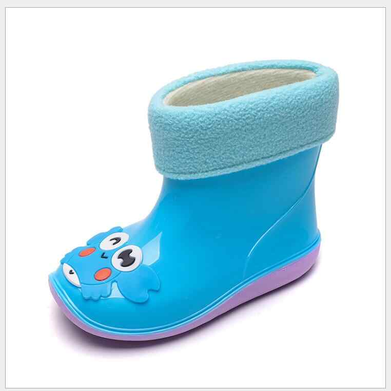 Baby Girls Children Kids Cute Rainy Boots Rubber Bow Jelly Shoes Antiskid Gifts