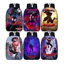 все цены на Spider-Man: Far From Home Spider Man Doll Primary school student Backpack Big capacity burden backpack B651 онлайн