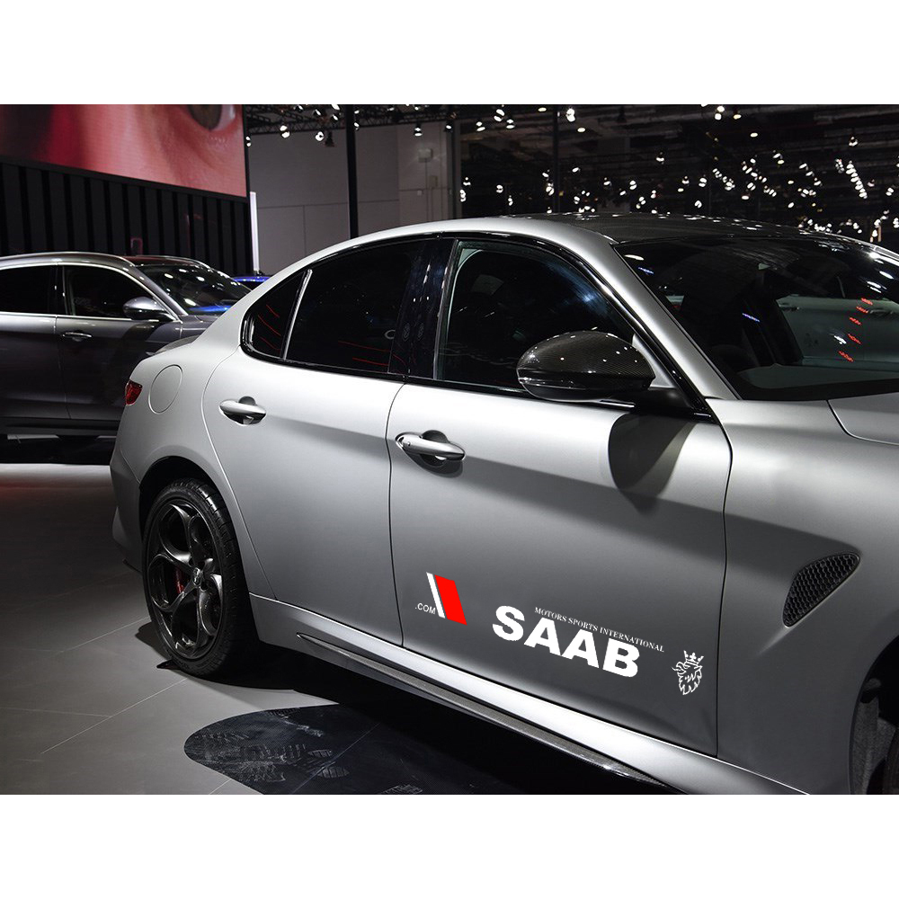 Image 5 - 2pcs/set Car Logo Decal Styling Car Door Side Stickers Accessories Body Decals for Bmw Audi Honda Toyota Ford Nissan Kia Opel-in Car Stickers from Automobiles & Motorcycles