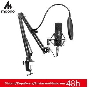 Image 1 - Maono 3.5 Mm Chuyên NghiệP Bộ Dàn Micro Điện Dung Cho Máy Tính Âm Thanh Phòng Thu Thanh Nhạc Rrecording Karaoke Mic