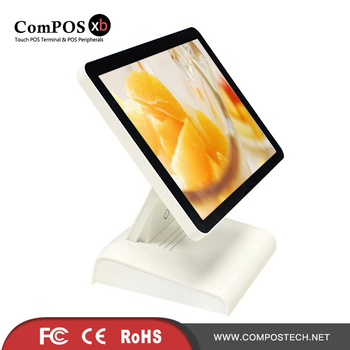 Factory price POS system 15 inch Capacitive touch screen POS terminal for fruit store
