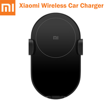 Original XIAOMI 10W Fast Charge Universal Wireless Car Charger Quick Charger Electric Auto Pinch Car Phone Holder For Samsung original xiaomi roidmi 2s bluetooth car charger