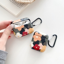 Art Oil Painting Flowers Earphone Headset Accessorie Soft Case For Airpods 1 2 Pro Protective Wireless Bluetooth Headset Cover