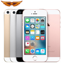Apple iphone se original duplo núcleo 4.0 polegadas 2gb ram 16/64gb rom12mp ios impressão digital toque id selado celular