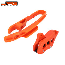 Motorcycle Chain Guide Guard + Chain Slider Guide For KTM SX SXF 125 150 200 250 350 450 525 2011 2012 2013 2014 2015 Dirt Bike