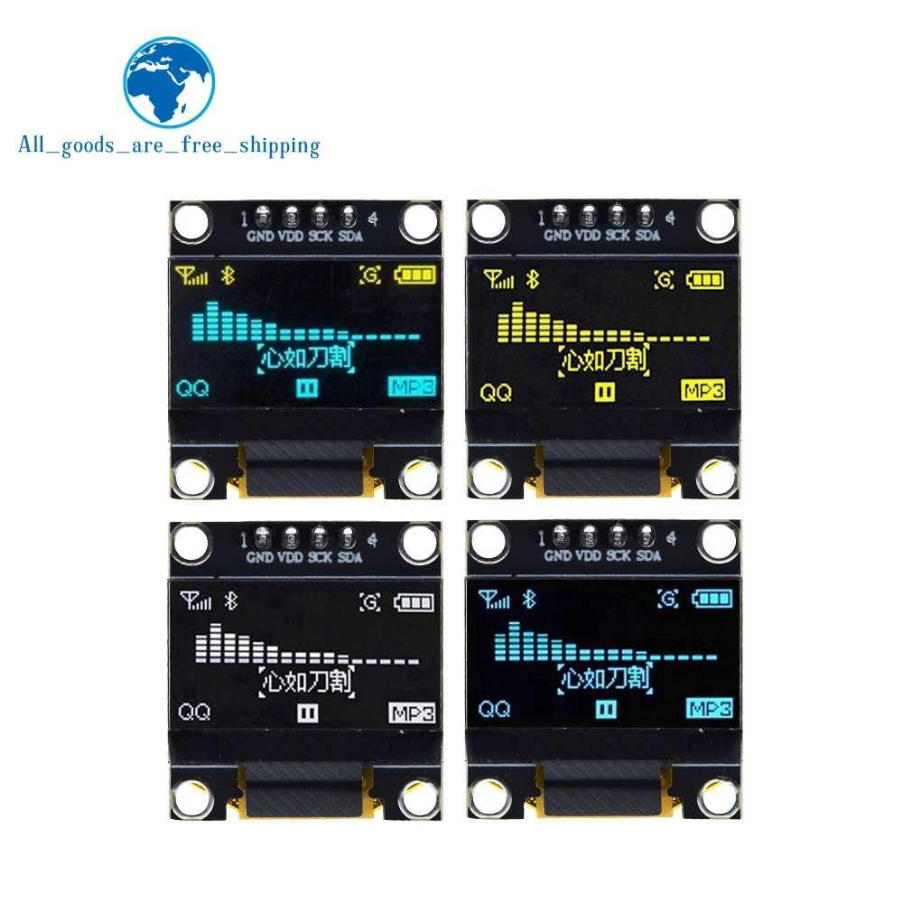 0.96 بوصة oled IIC المسلسل الأبيض OLED وحدة عرض 128X64 I2C SSD1306 12864 LCD لوحة الشاشة GND VDD SCK SDA لاردوينو