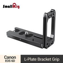 SmallRig L Plate Bracket Grip for Canon EOS 6D DSLR Camera Quick Release L Shape Tripod Holder Bracket Plate -2408