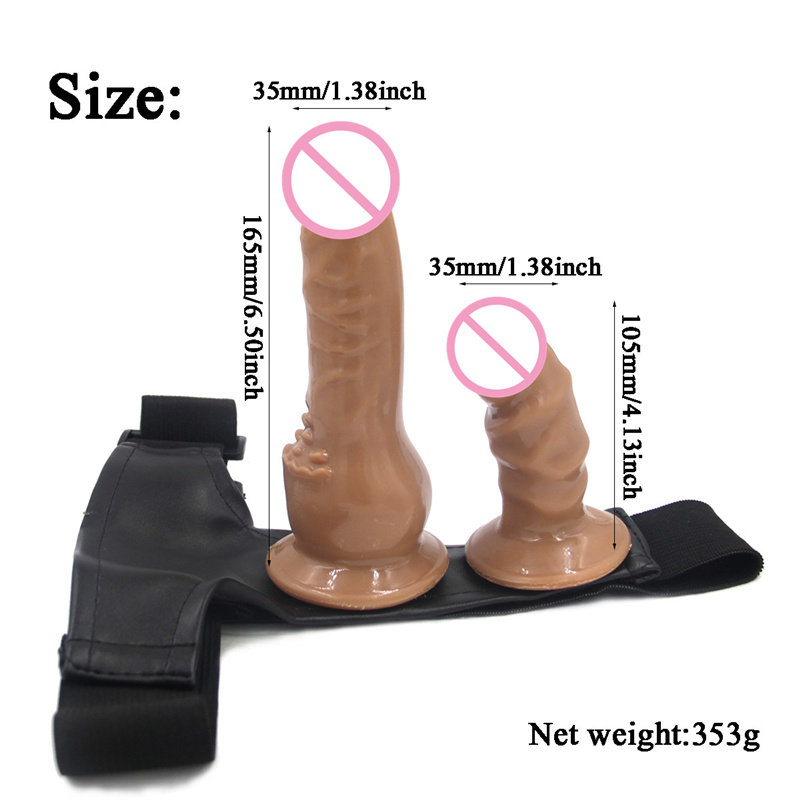 Double Sided Strap On | Cheap Dildo