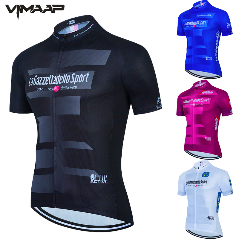 Pro team Tour De Italia Italy Men CYCLING JERSEY Bike Cycling Clothing MTB Top quality Cycle Bicycle Sports Wear Ropa Ciclismo