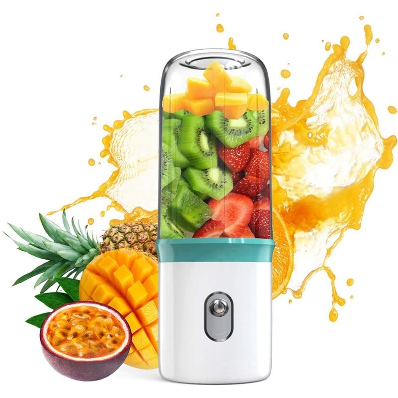 Portable Blender USB Personal Smoothie Blender On The Go/Travel Milkshake Smoothie Ice.Mini Blenders Processor Shake Mixer Maker|Juicers| |  - title=
