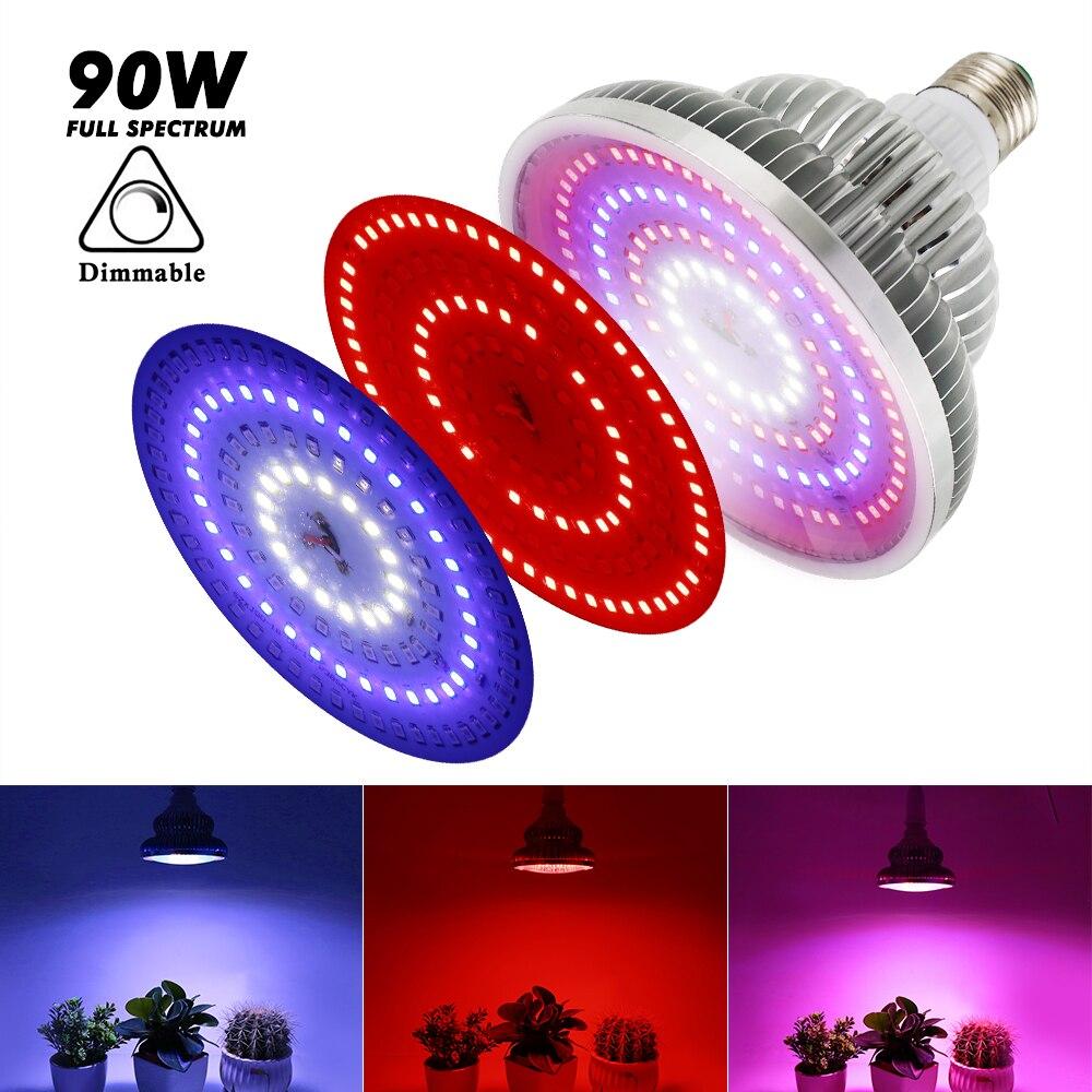LED Grow Light Full Spectrum Indoor Plant Lamp For Plants Vegs Plant Light Grow Lamp For Garden Flowering Hydroponics System