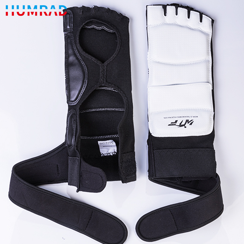 Hao Rui Taekwondo Boxing Gloves Half Finger Foot Strap Adult Boxing Booties Children Shoes Cover Customizable